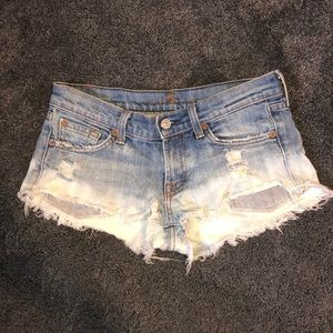 7 for all man kind jean shorts!
